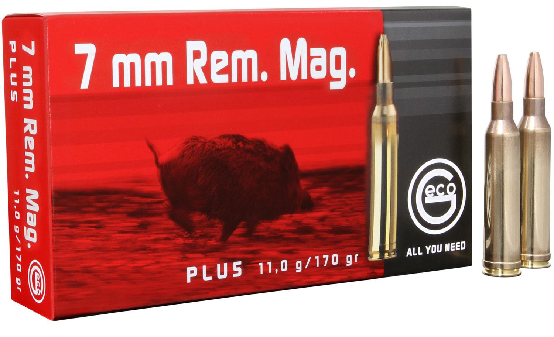 284440020 Plus Geco  7mm Rem Mag 170 GR Plus 20 Bx/ 10 Cs