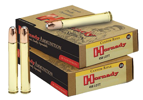 Hornady 8262 Dangerous Game  458 Lott 500 GR DGS 20 Bx/ 6 Cs