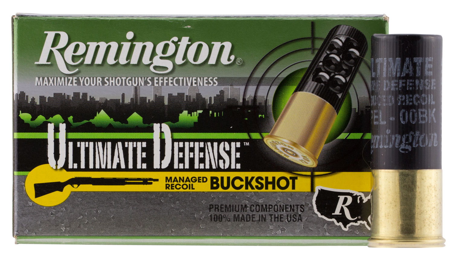 Remington Ammunition 12B008RRHD Ultimate Defense 12 Gauge 2.75