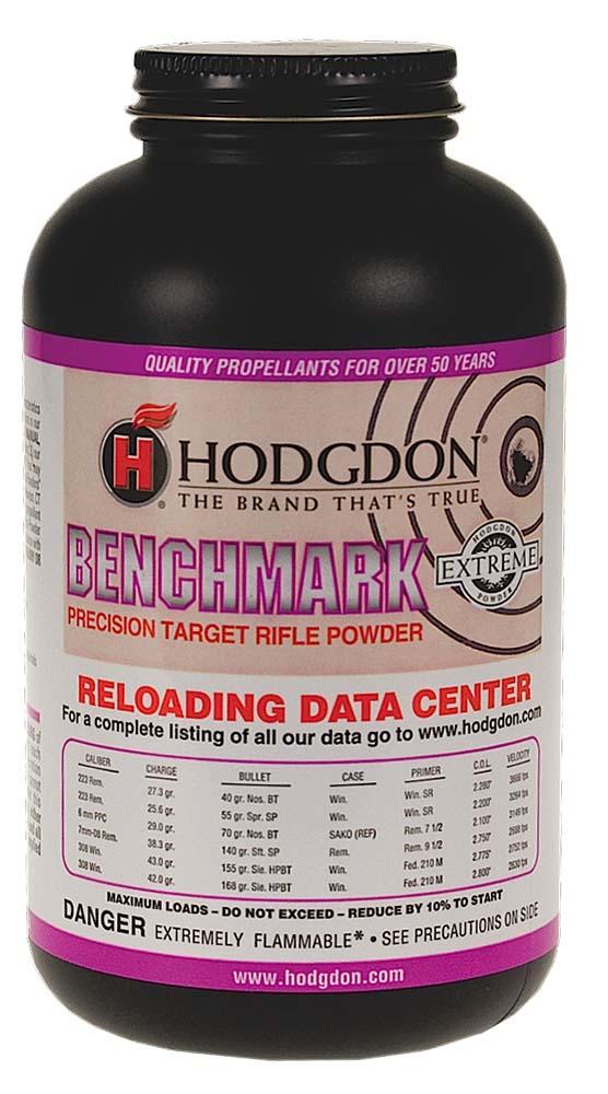 Hodgdon BM8 Extreme Benchmark Rifle 8 lbs 1 Canister