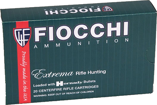 Fiocchi 3006TTSX Extrema 30-06 Springfield 168 GR Tipped TSX Boat Tail 20 Bx/ 10 Cs