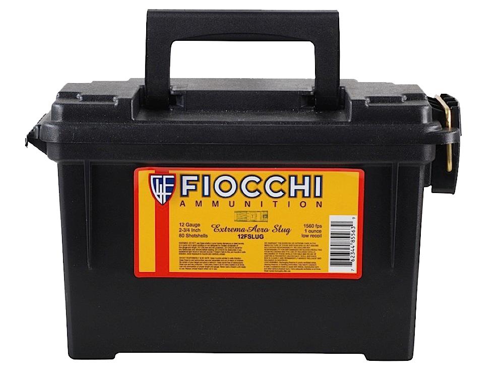 Fiocchi 12FSLUG Rifled Slug 12 Gauge 2.75