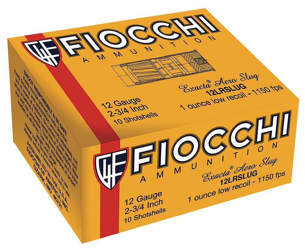 Fiocchi 12FLESLUG Rifled Slug 12 Gauge 2.75