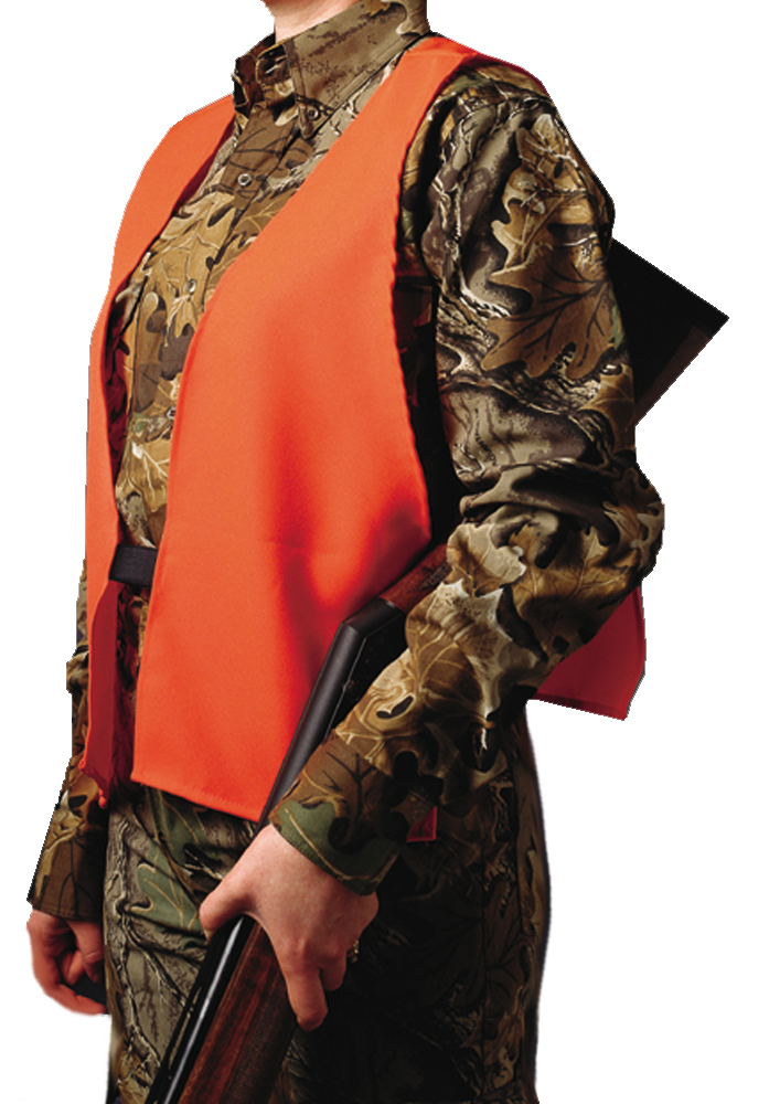 Hunters Specialties Safey Vest  <br>  Blaze Orange