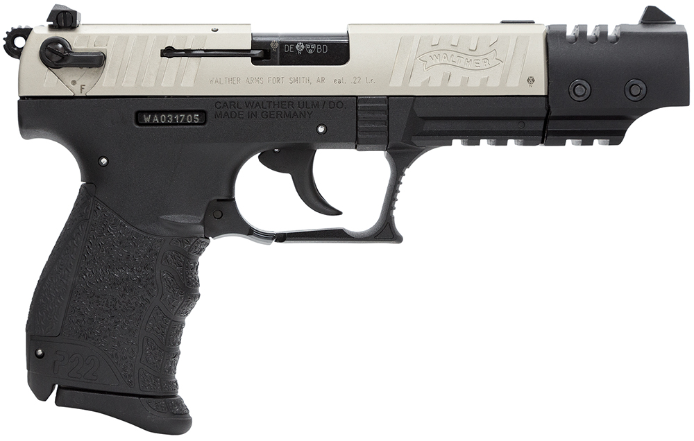 Walther Arms 5120326 P22 Rimfire  22 Long Rifle (LR) Single/Double 5