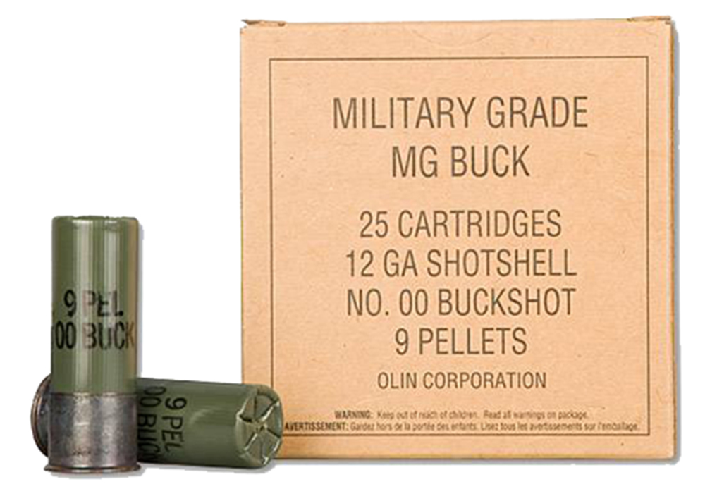 Winchester Ammo Q1544VP Military Grade 12 Gauge 2.75