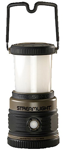 Streamlight 44931 Siege Lantern Wh/Red LEDs 33/175/340 Lm D Alk (3) Coyote/Blk
