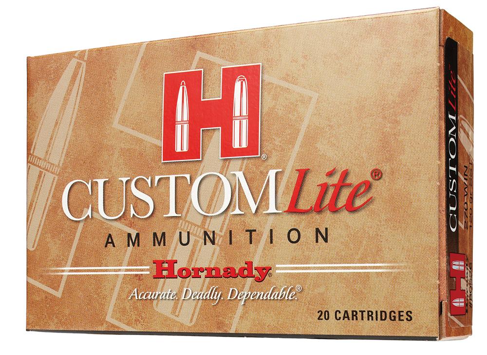 Hornady 82017 Custom Lite   300 Winchester Magnum 150 GR SST 20 Bx/ 10 Cs
