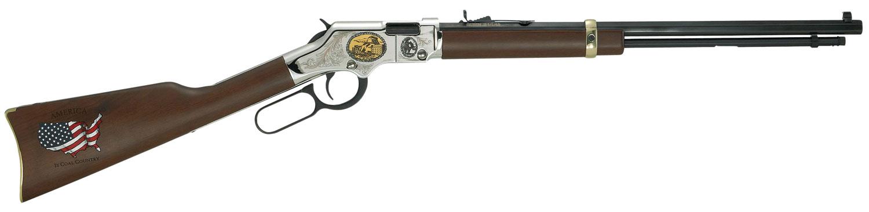 Henry H004CM2 Golden Boy Coal Miner Tribute II  Lever 22 Short/Long/Long Rifle 20