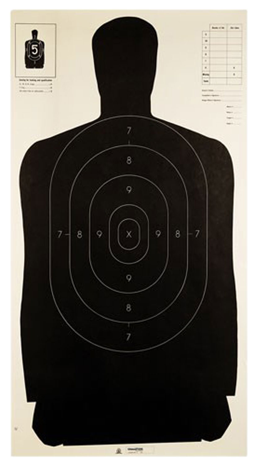Champion Targets 40727 LE Targets Police Silhouette 100 Pack