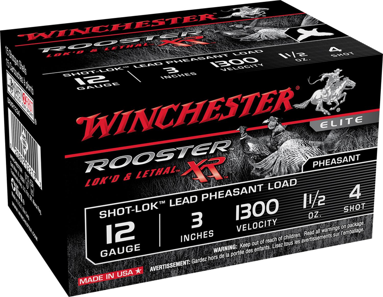 Winchester Ammo SRXR1234 Rooster XR Shot-Lok 12 Gauge 3