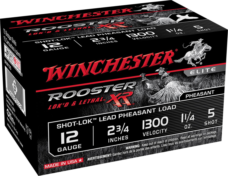 Winchester Ammo SRXR125 Rooster XR 12 Gauge 2.75