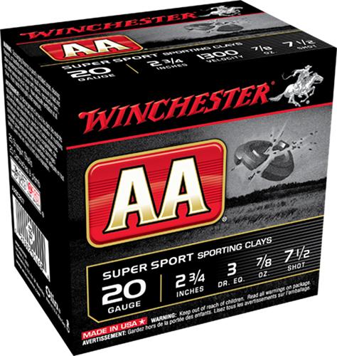 Winchester Ammo AASC207TO AA TrAAcker  20 Gauge 2.75