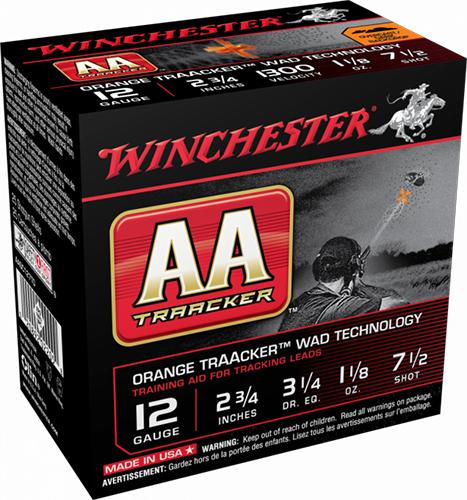 Winchester Ammo AASC207TB AA TrAAcker 20 Gauge 2.75