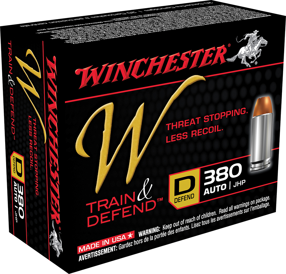 Winchester Ammo W380D W 380 Automatic Colt Pistol (ACP) 95 GR Jacketed Hollow Point 20 Bx/ 10 Cs