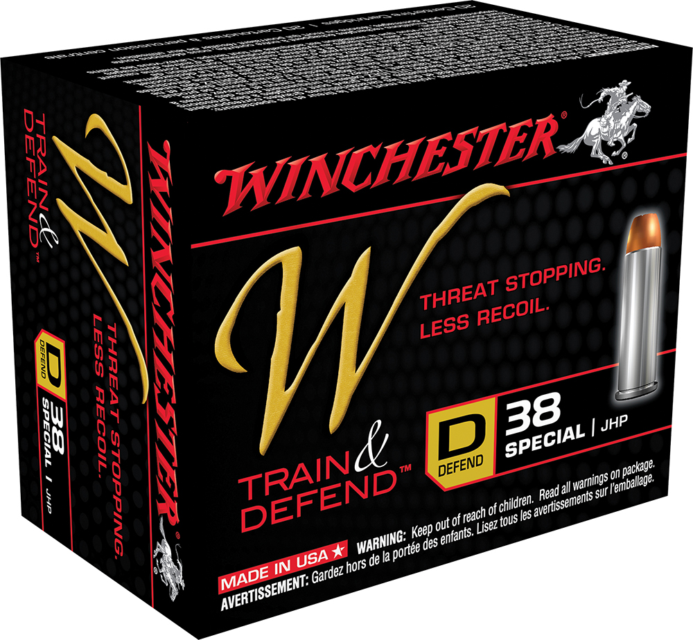 Winchester Ammo W38SPLD W 38 Special 130 GR Jacketed Hollow Point 20 Bx/ 10 Cs