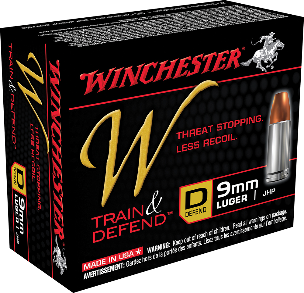 Winchester Ammo W9MMD W 9mm Luger 147 GR Jacketed Hollow Point 20 Bx/ 10 Cs