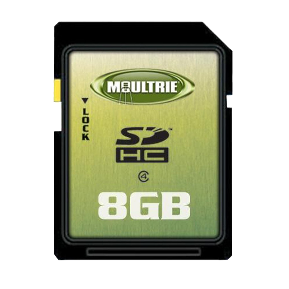 MOULTRIE 8G SD CARD