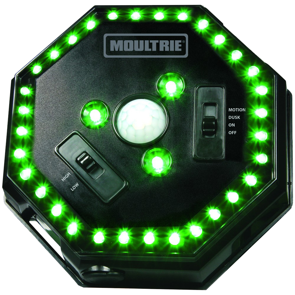 Moultrie MFA12651 Feeder Hog Light C Alkaline Green LEDs Black