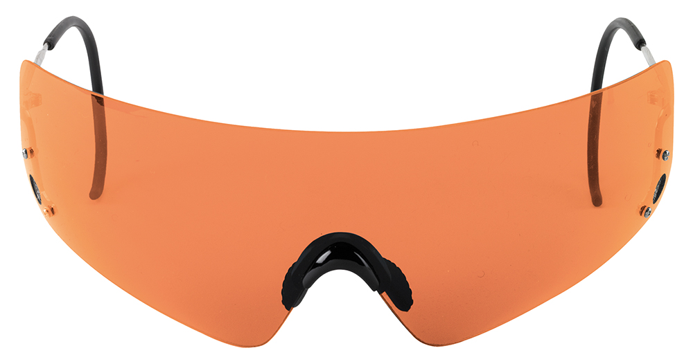 BERETTA SHOOTING GLASSES ADULT ORANGE LENSES/WIRE FRAMES