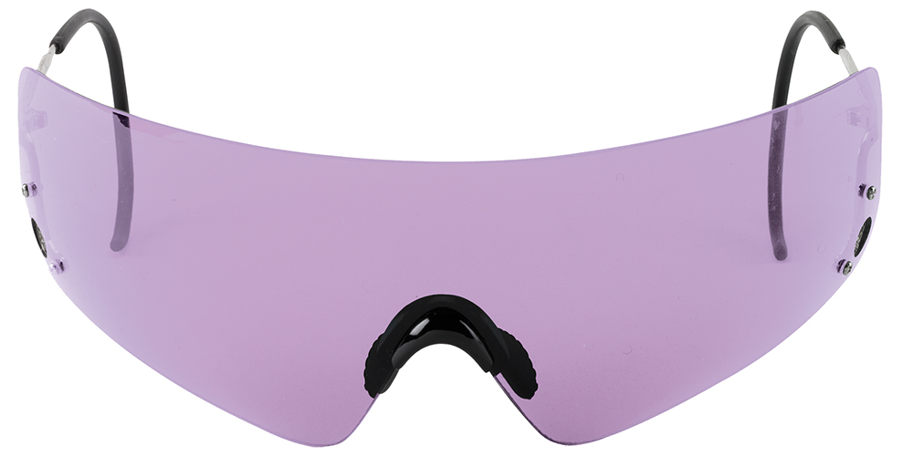 BERETTA SHOOTING GLASSES ADULT PURPLE LENSES/WIRE FRAMES