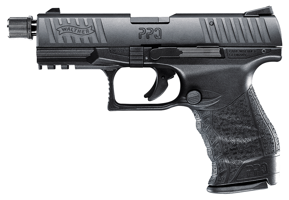 Walther Arms 5100301 PPQ M2 SD  22 Long Rifle (LR) Single 4.6