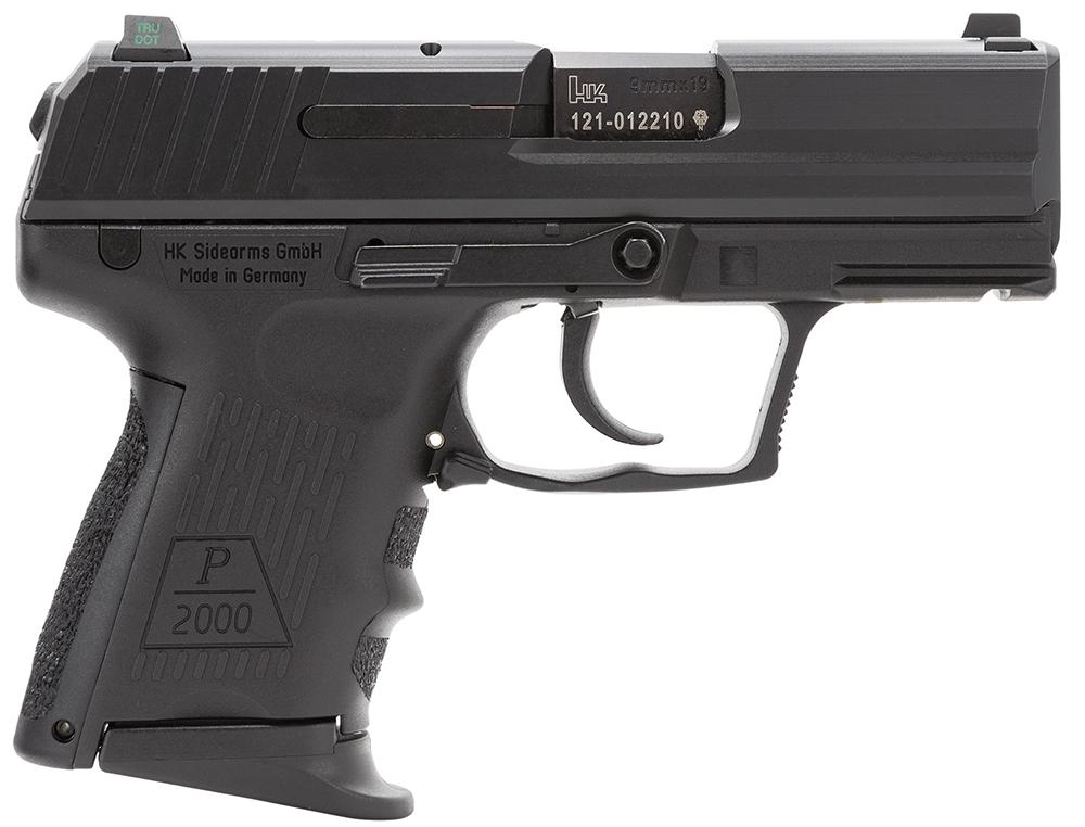 HK 81000038 P2000 V2 LEM 9mm Luger 3.66