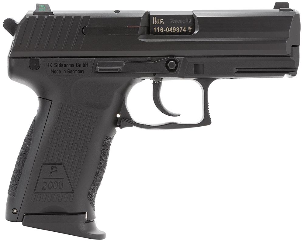 HK 81000042 P2000 V3 9mm Luger 3.66