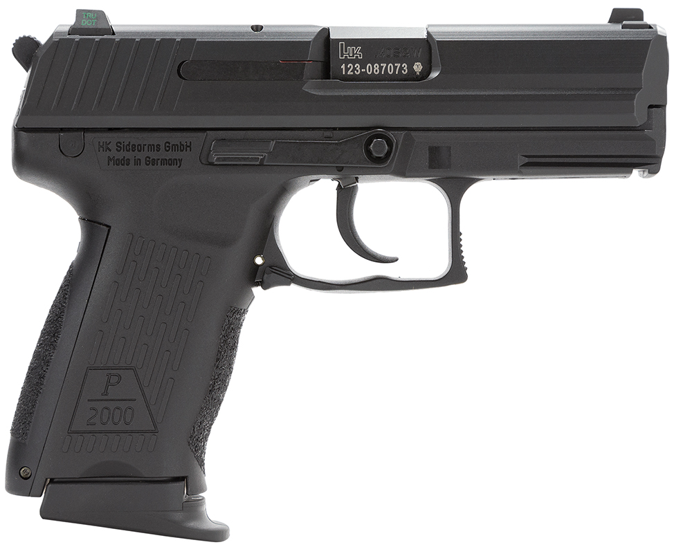 HK 704202LEA5 P2000 V2 LEM with 3 Mags  40 Smith & Wesson (S&W) Double 3.66