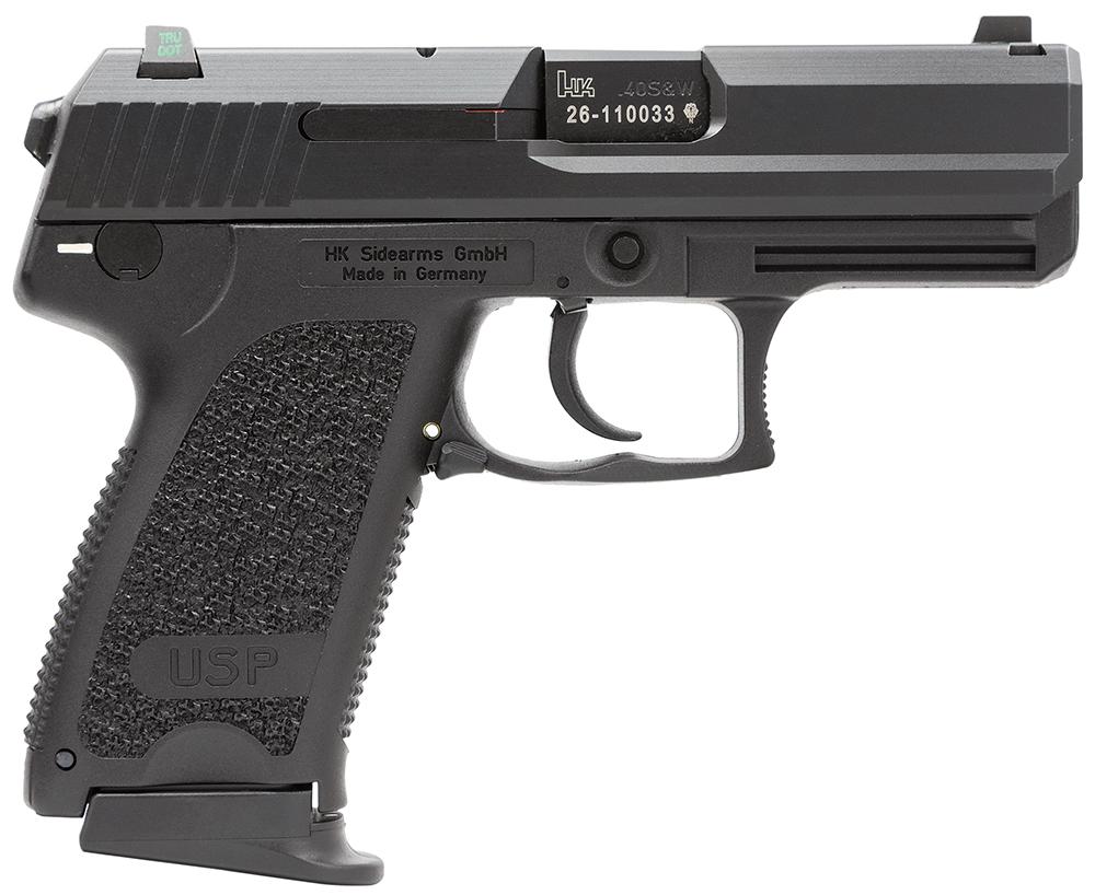 HK 81000341 USP Compact V7 LEM 40 S&W 3.58