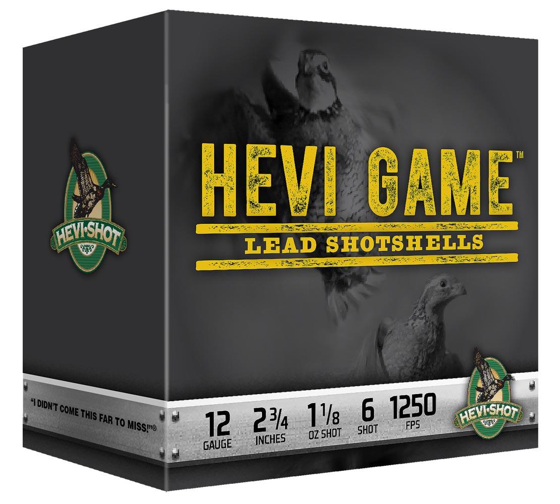 Hevishot 92037 Hevi Game Lead Shotshell 20 Ga 2.75