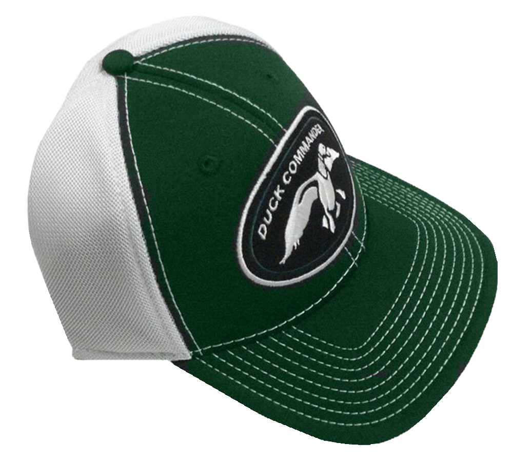 Duck Commander DHGWM Logo Green/White Mesh One Size Cotton/Poly 10Pk