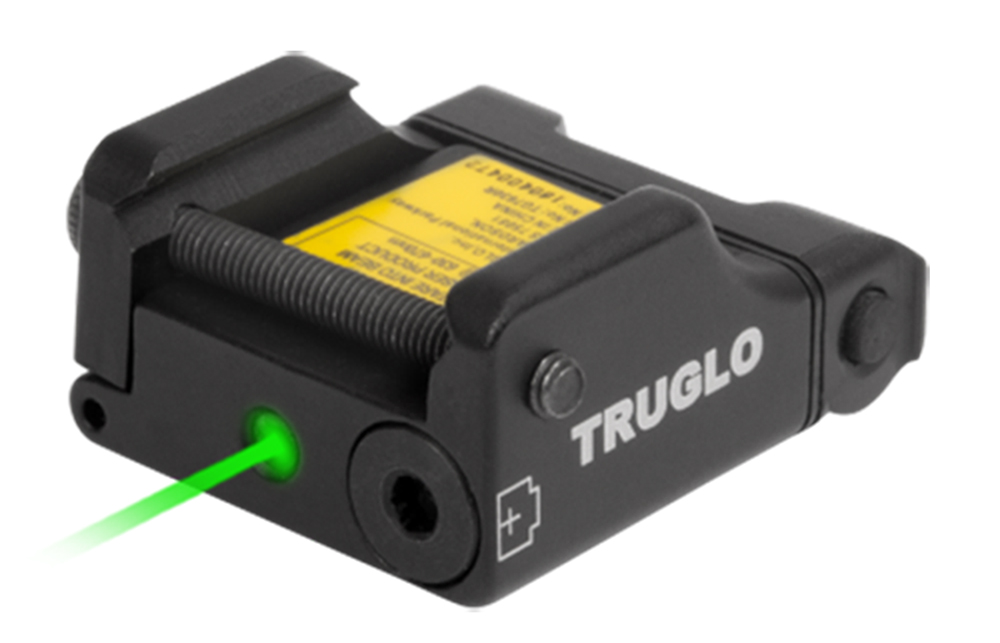 Truglo TG7630G Micro-Tac Tactical Green Laser Universal w/Accessory Rail Weaver or Picatinny