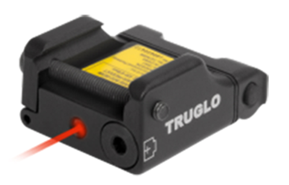 Truglo TG7630R Micro-Tac Tactical 650 nm Red Laser Universal w/Accessory Rail Picatinny/Weaver