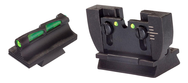Hiviz RG1022 Litewave Set Ruger 10/22 Blk Frm Front/Rear Green/Red