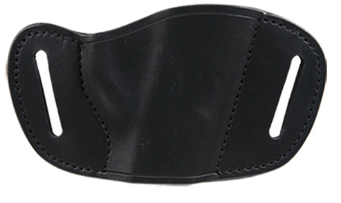 BULLDOG MOLDED LEATHER BLK RH MED