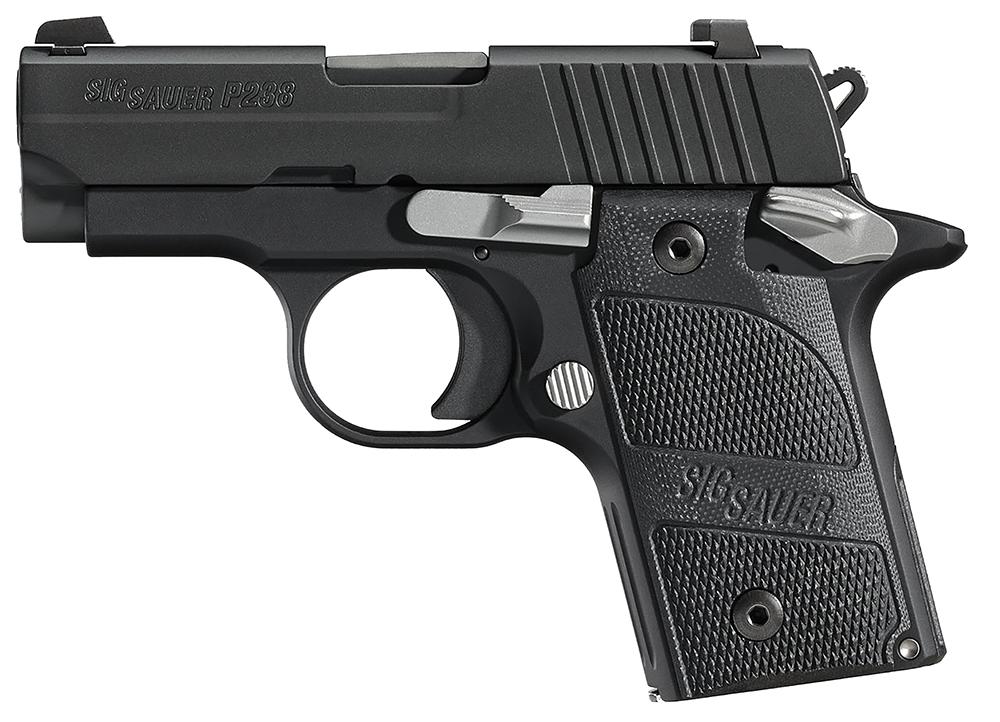 Sig Sauer 238380NMR P238 Micro-Compact Nightmare Single/Double 380 Automatic Colt Pistol (ACP) 2.7