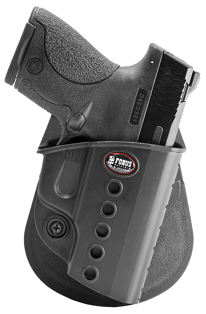 FOBUS E2 PDL WLTHER PPS/S&W SHIELD