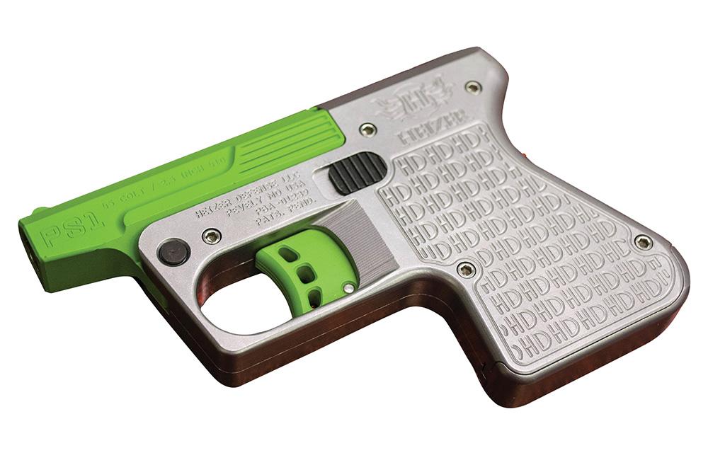 Heizer PS1SSGR PS1 Pocket Shotgun Pistol Single 45 Colt (LC)/410 Gauge 3.5