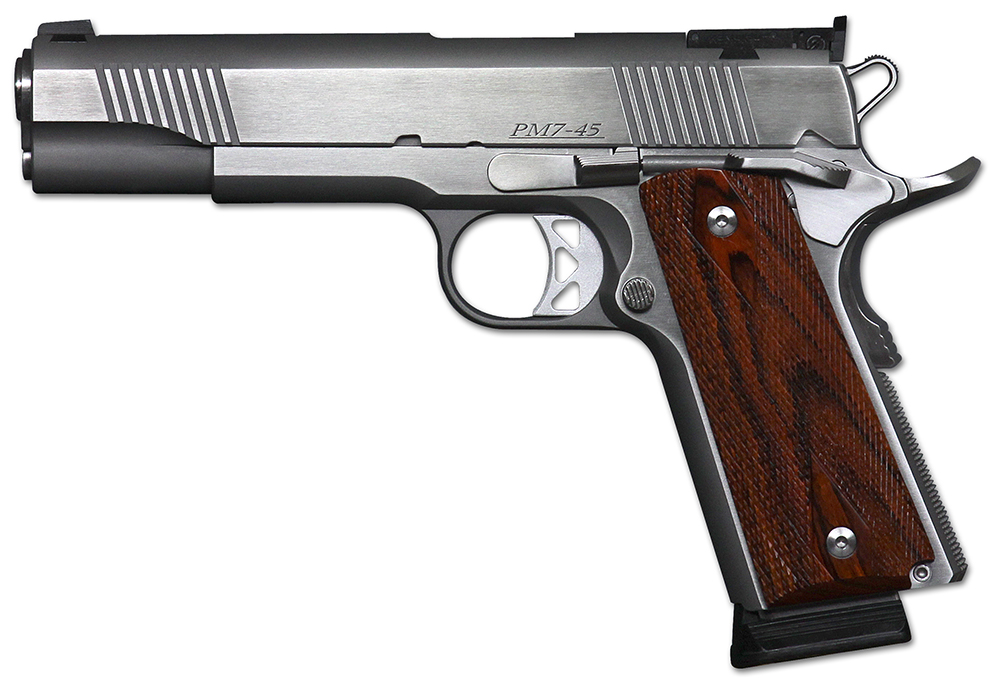 DW POINTMAN 7 45ACP SS 8+1 CA - 5 | 7+1 | AS | COCOBOLO GRIPS