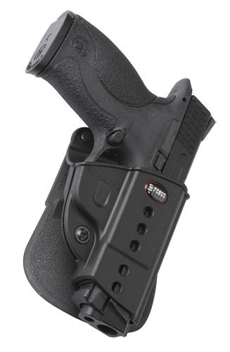 Fobus SWMPLH Evolution Belt Paddle LH Diamondback FS9 Polymer Black
