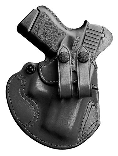 Desantis Gunhide 028BAX7Z0 Cozy Partner S&W M&P 9/40 Shield RH Leather Black