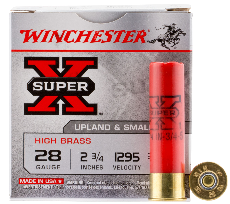 Winchester Ammo X285 Super-X High Brass Game 28 Gauge 2.75