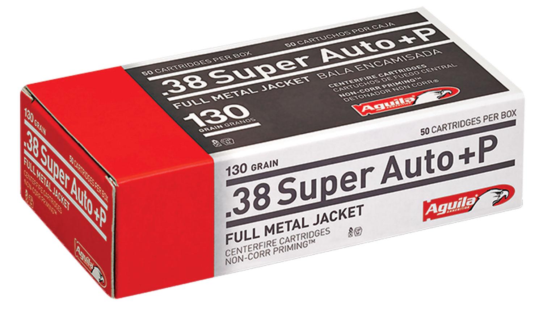 AGUILA 38SPR A +P 130GR 50/1000