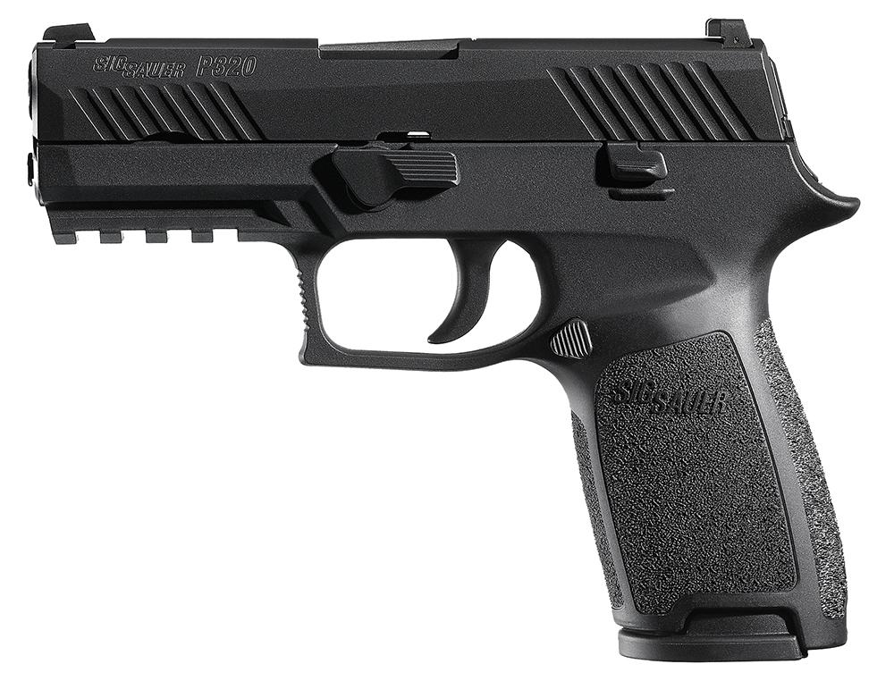 Sig Sauer 320CA45B P320 Carry Double 45 Automatic Colt Pistol (ACP) 3.9