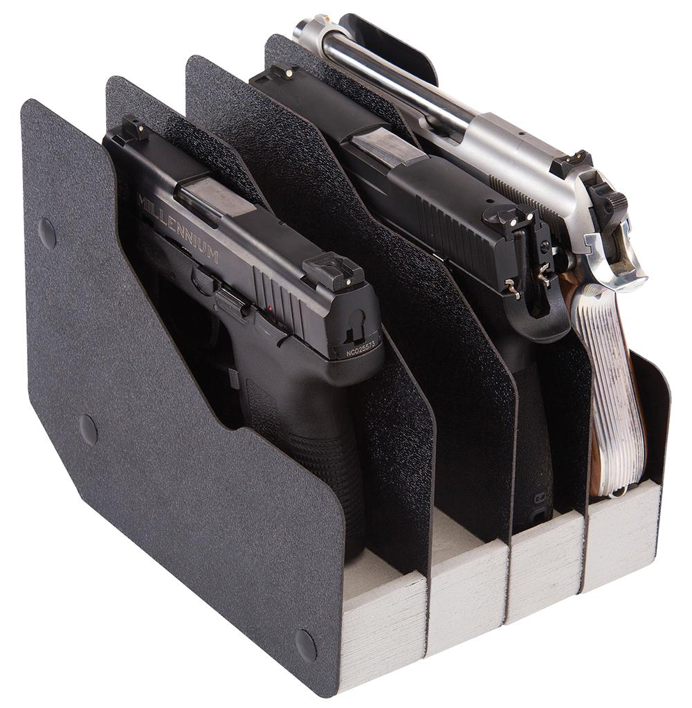 BenchMaster BMWRM14 WeaponRac Four Pistol  WeaponRac Four Pistol