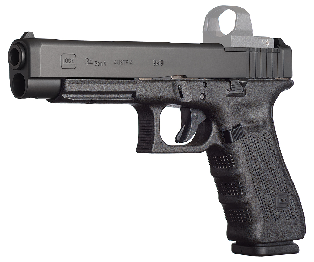 Glock PG3430103MOS G34 Gen 4 MOS Double 9mm Luger 5.31