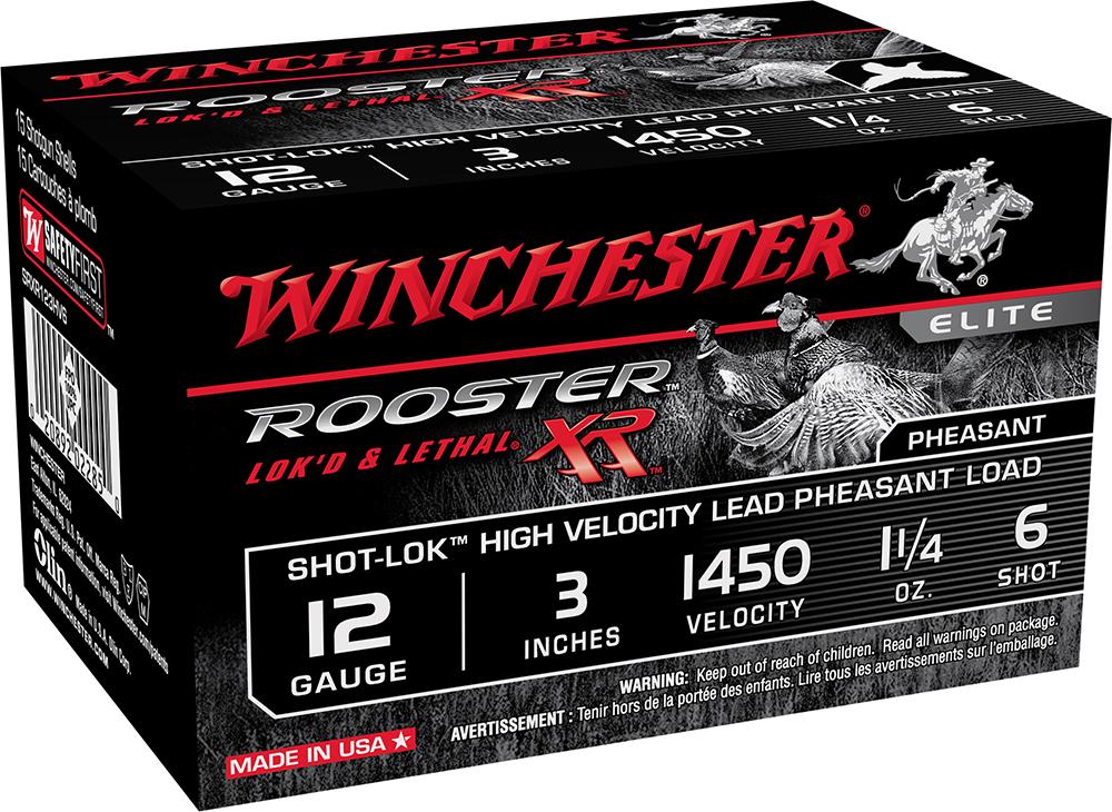 Winchester Ammo SRXR123HV6 Rooster XR 12 Gauge 3