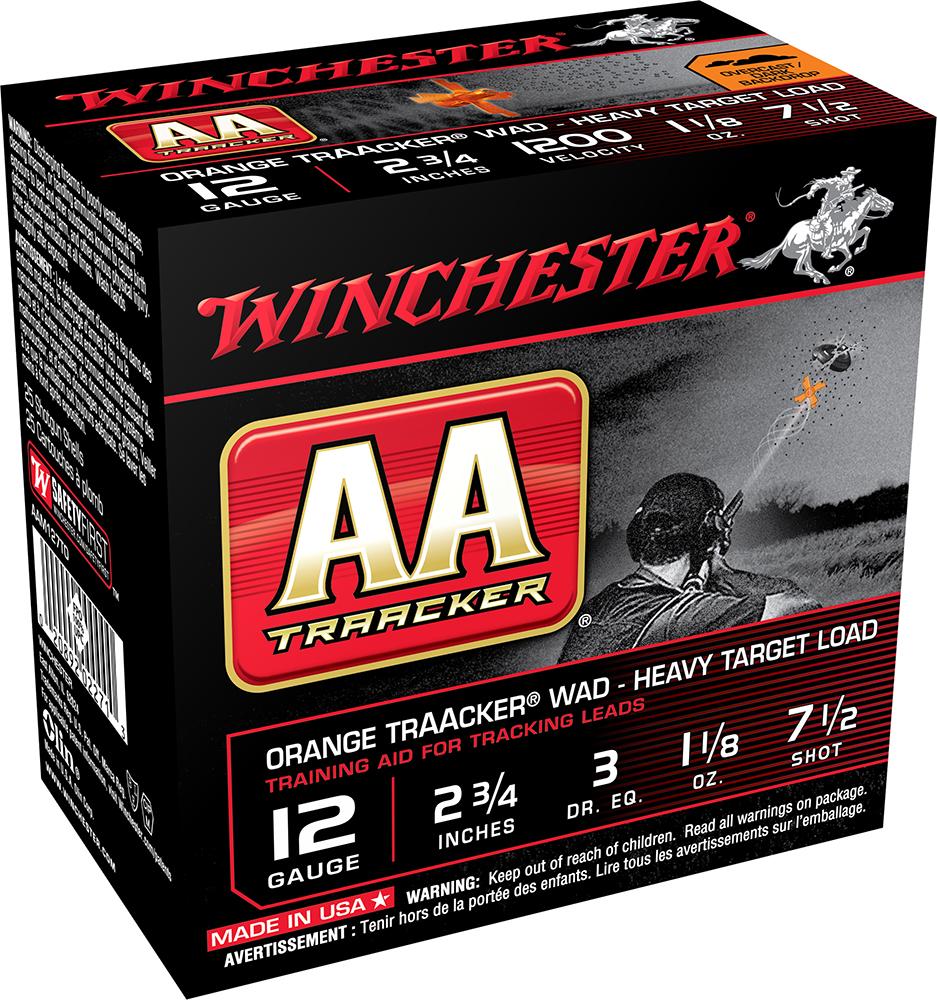 Winchester Ammo AAM127TO AA TrAAcker 12 Gauge Overcast Training Heavy 12 Gauge 2.75