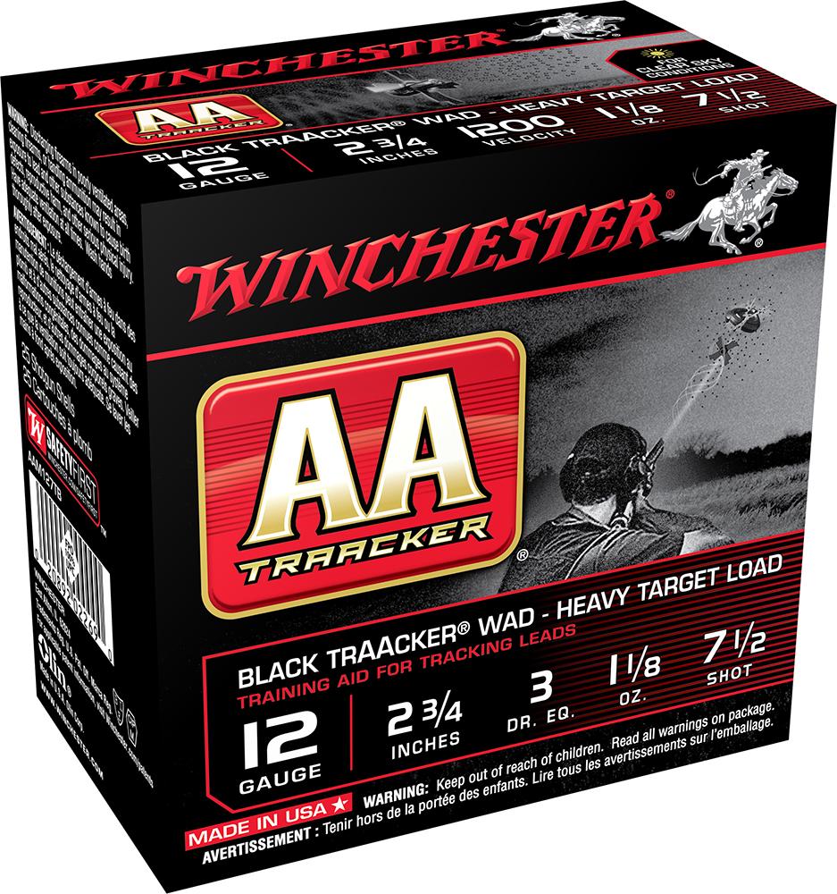 Winchester Ammo AAM127TB AA TrAAcker Heavy Target Load 12 Gauge 2.75